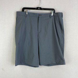 NIKE GOLF Gray Stripe Chino Short